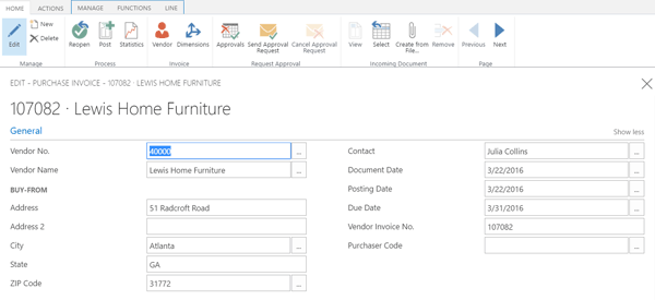 Invoices in Microsoft Dynamics CRM
