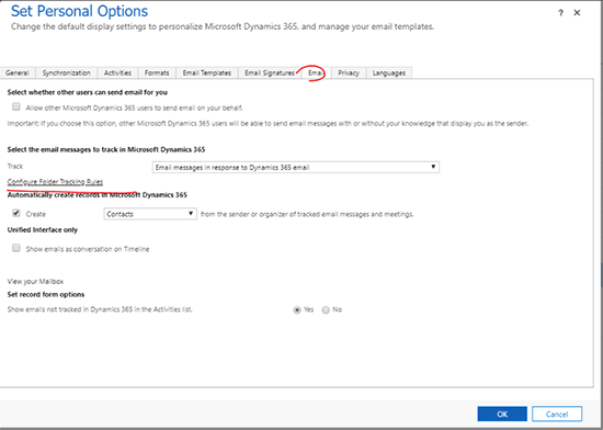 Update Email Leads in Dynamics 365